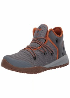 Columbia Men's Fairbanks 503 Ankle Boot ti Grey Steel Bright Copper  Regular US