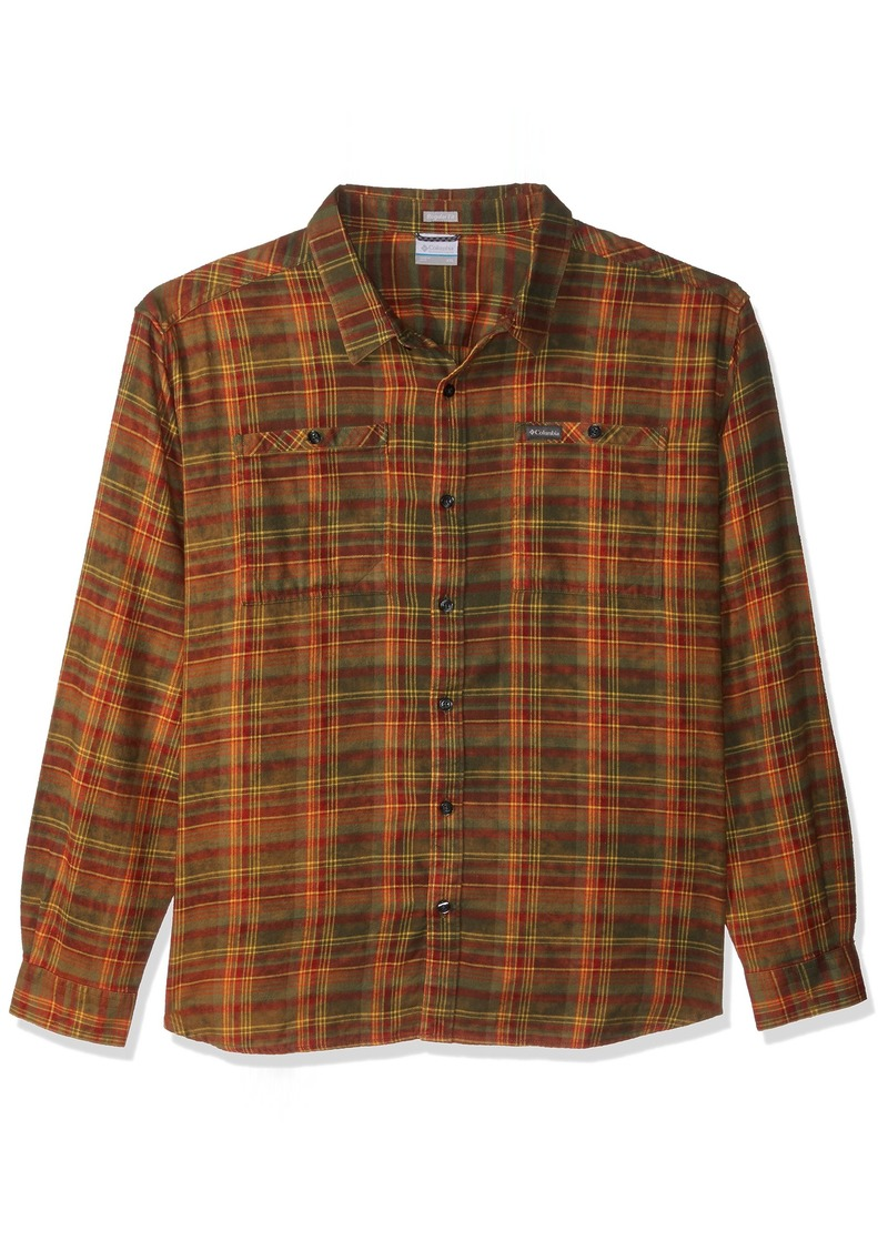 Columbia Men's Flare Gun Washed Long Sleeve Flannel  M