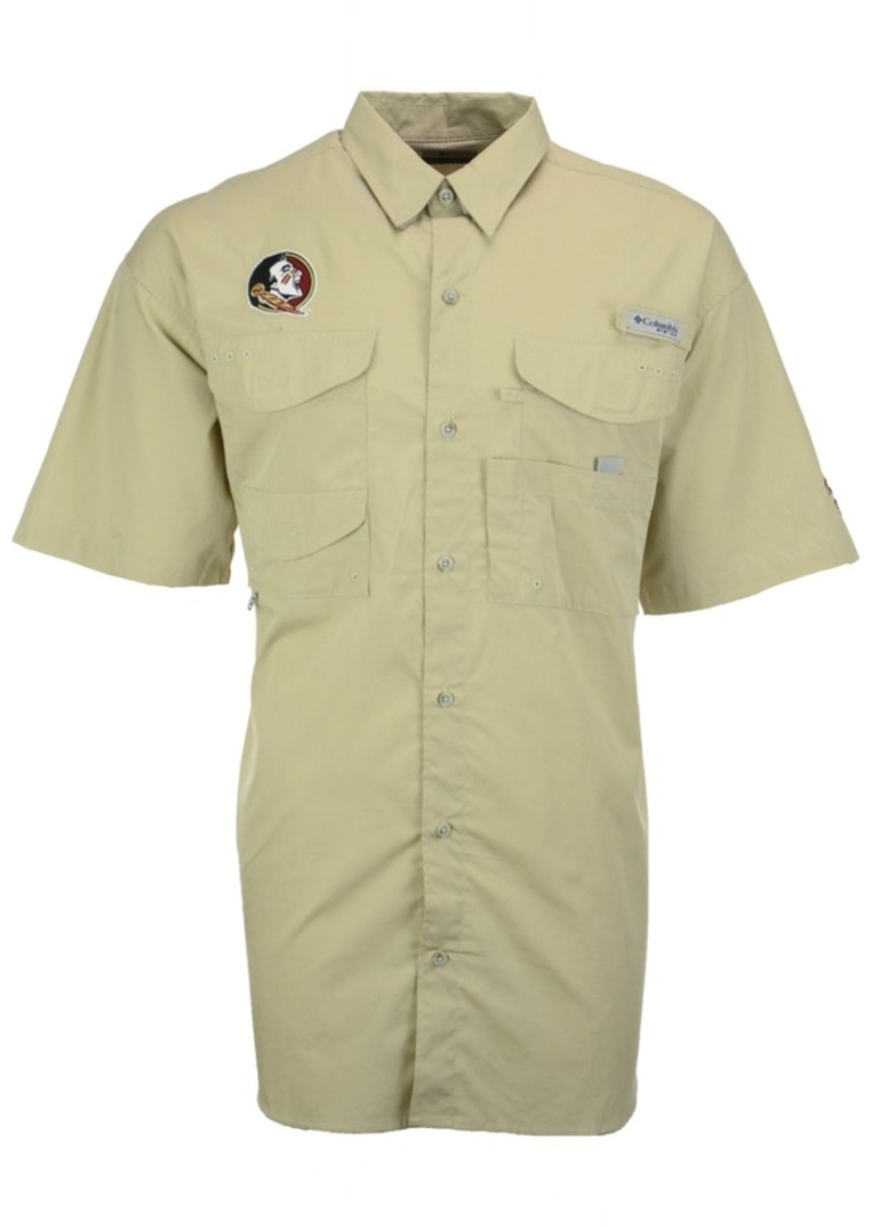 ad844498484 Columbia Men's Florida State Seminoles Bonehead Short Sleeve Shirt