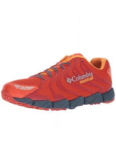 Columbia Men's Fluidflex F.K.T. II Trail Running Shoe hot Pepper Orange Blast 10 D US