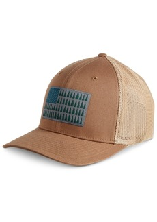 Columbia Men's Mesh Tree Flag Ball Cap