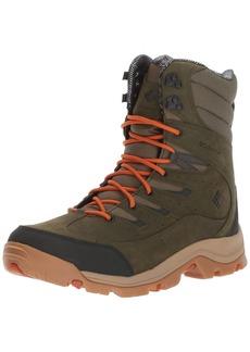 Columbia Men's Gunnison Plus Leather Omni-Heat Hiking Shoe   D US