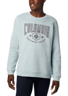 Columbia Men's Hart Mountain Regular-Fit Fleece Logo Sweatshirt
