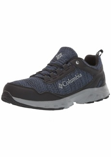 Columbia Men's IRRIGON Trail Knit Hiking Shoe zinc Monument  Regular US