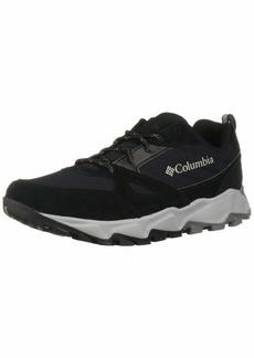 Columbia Men's IVO Trail Hiking Shoe Black steam  Regular US
