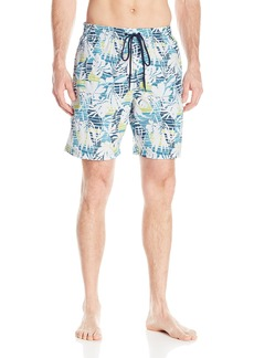 "Columbia Men's Lakeside Leisure II Printed Swim Short  Large/8"""