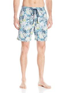 "Columbia Men's Lakeside Leisure II Printed Swim Short  Medium/8"""