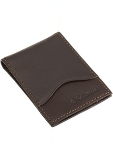Columbia Men's Leather Slim Ft. Pocket Wallet