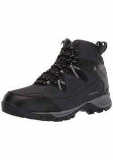 Columbia Men's LIFTOP III Snow Boot Black ti Grey Steel  US