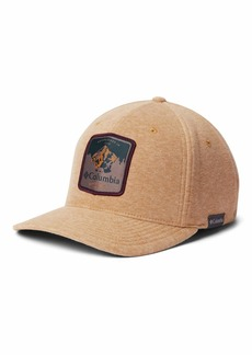 Columbia Men's Lodge Hat burnished amber heather/mountain badge