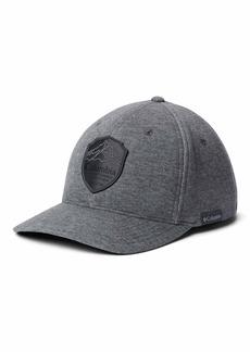 Columbia Men's Lodge Hat charcoal heather/black patch Small/Medium