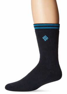 Columbia Men's Medium Weight Thermal 2 Pack Socks