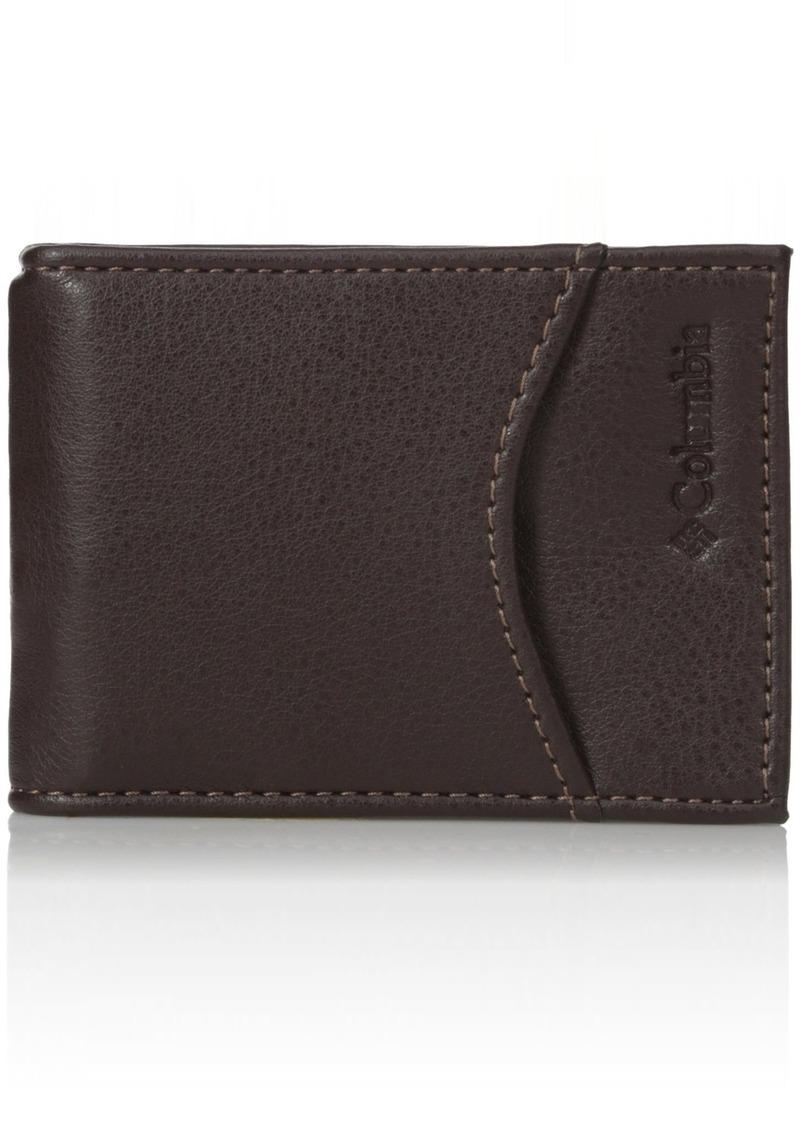 Columbia Men's Merino RFID Blocking Slim Front Pocket Wallet