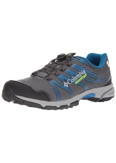 Columbia Men's Mountain Masochist IV Outdry Trail Running Shoe ti Grey Steel Bright Green  D US