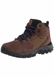 Columbia mens Newton Ridge Plus Ii Suede Waterproof Boot Hiking Shoe   US