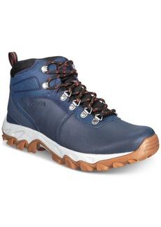 Columbia Men's Newton Ridge Plus Ii Waterproof Boots Men's Shoes