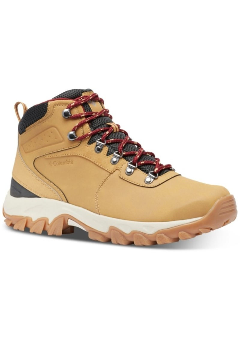 Columbia Men's Newton Ridge Plus Ii Waterproof Hiking Boots Men's Shoes