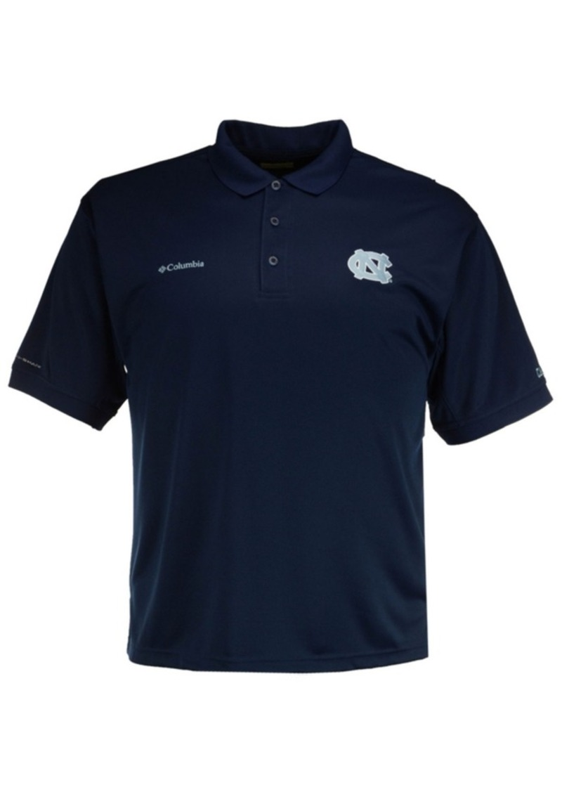 466c784763a Columbia Men's North Carolina Tar Heels Collegiate Perfect Cast Polo Shirt