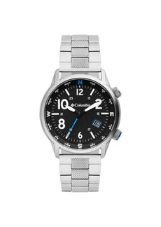 Columbia Men's Outbacker Silver-Tone Stainless Steel Bracelet Watch 42mm