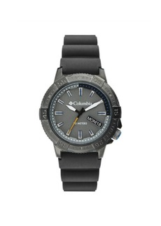 Columbia Men's Peak Patrol Gray Silicone Strap Watch 42mm
