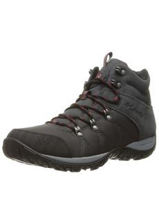 Columbia Men's Peakfreak Venture MID LT Hiking Boot Shark Mountain red 12 Regular US