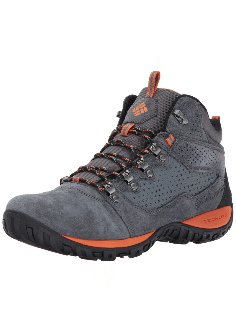 Columbia Men's Peakfreak Venture MID Suede Waterproof Hiking Boot   D US