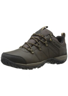 Columbia Men's Peakfreak Venture Waterproof Trail Shoe Cordovan/Squash