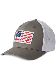 Columbia Men's Pfg Mesh Fish Flag Ball Cap
