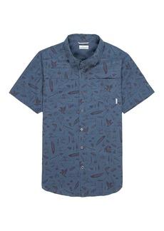 Columbia Men's Pilsner Peak Print SS Shirt