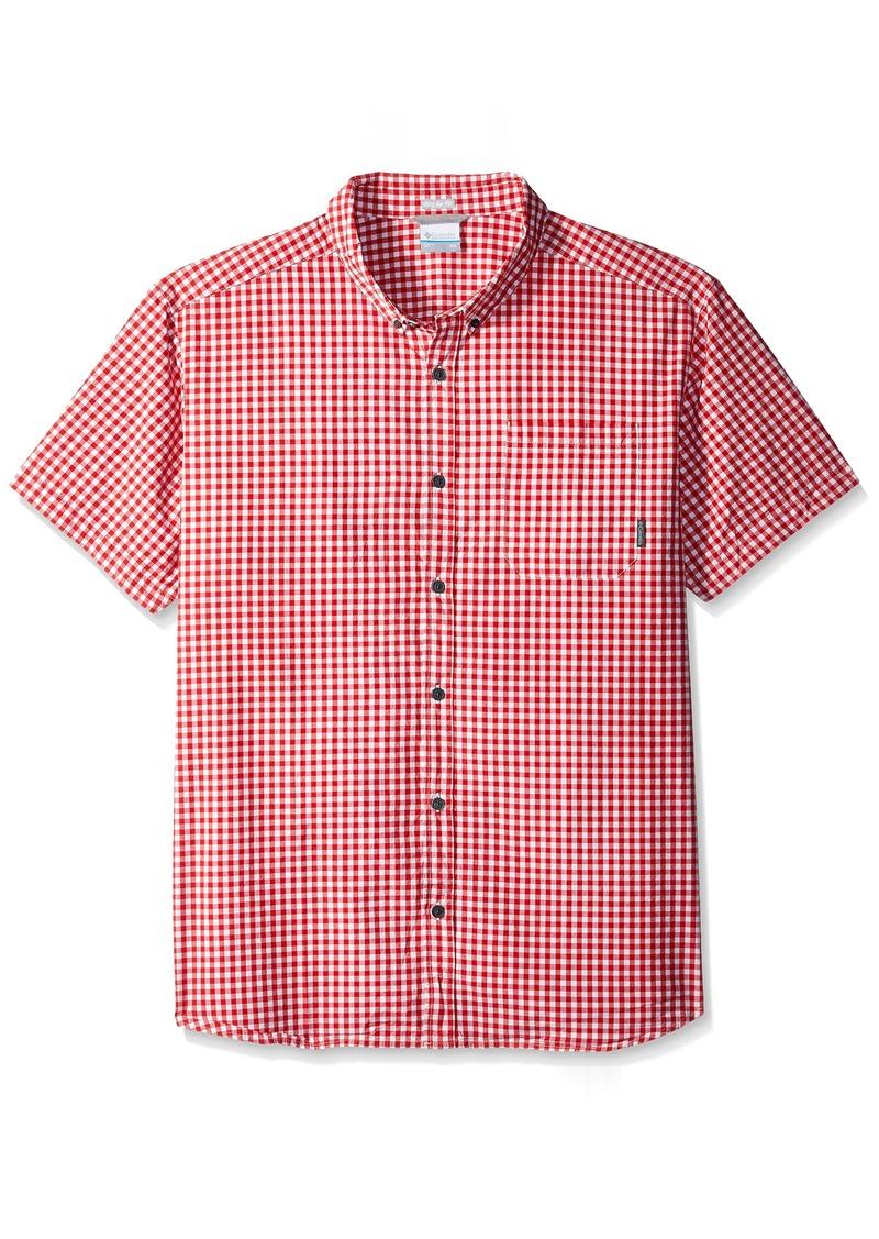 1b113ab94b3 Columbia Columbia Men's Rapid Rivers Ii Short Sleeve Shirt red Spark ...