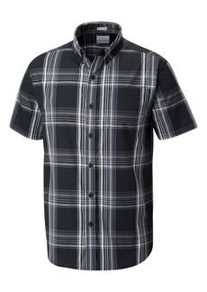 Columbia Men's Rapid Rivers Plaid Short-Sleeve Shirt