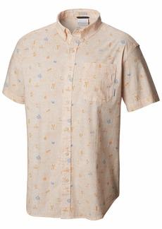 Columbia Men's Rapid Rivers Printed Short Sleeve Shirt  L