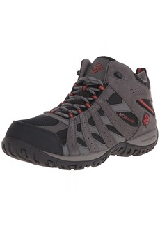 Columbia Men's Redmond Mid Waterproof Boot Breathable High-Traction Grip Hiking   D US