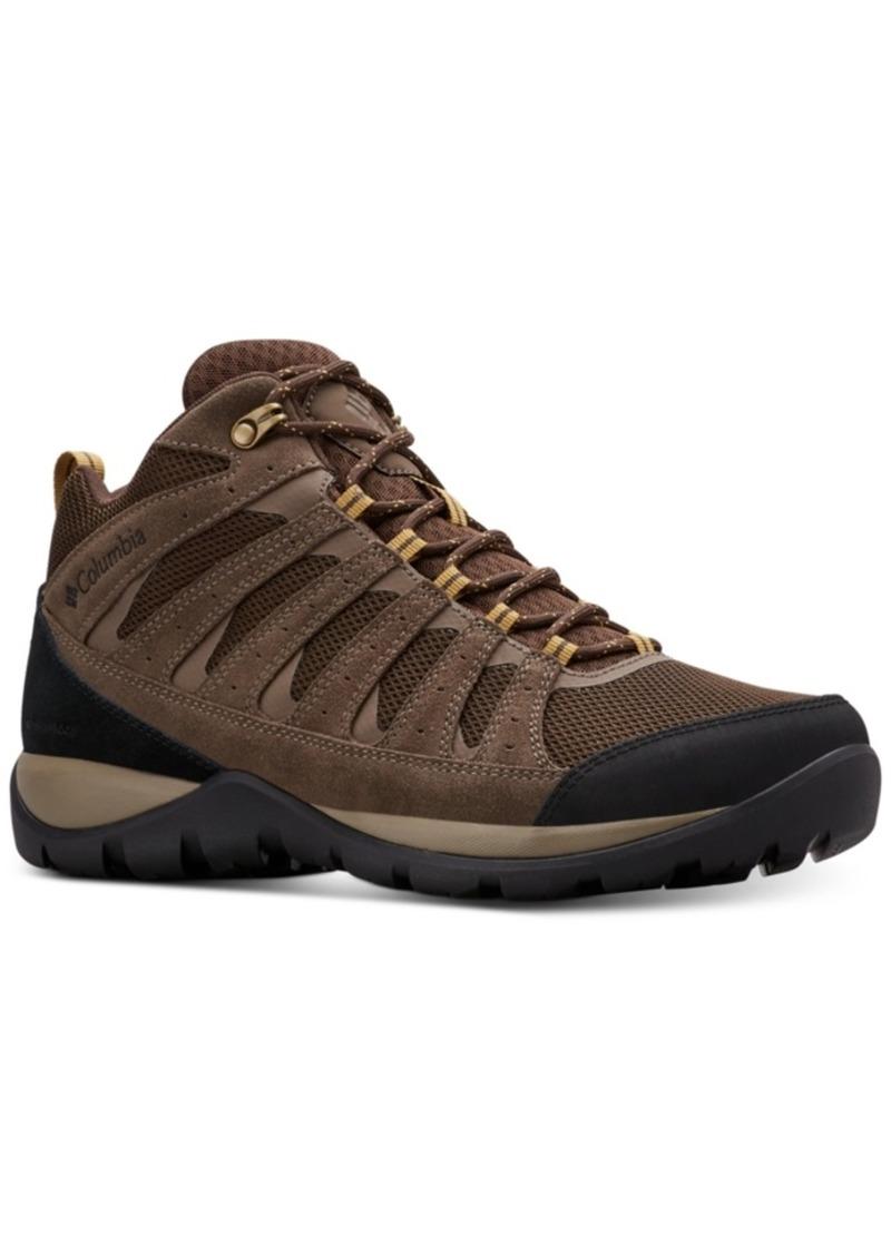 Columbia Men's Redmond V2 Waterproof Mid-Height Hiking Boots Men's Shoes