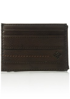 Columbia Men's Rfid Blocking Wide Magnetic Front Pocket Wallet