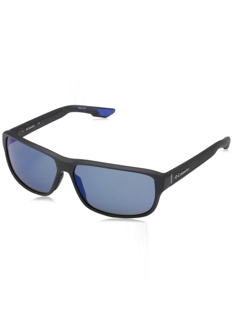 Columbia Men's Ridgestone RIDGESTONE-027 Rectangular Sunglasses  62 mm