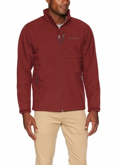 Columbia Men's Tall Size Ascender Softshell Jacket red Jasper LT
