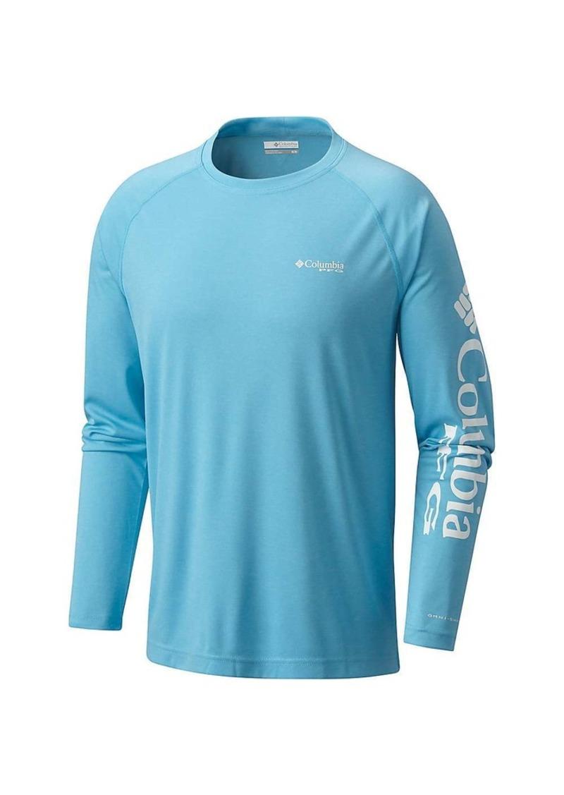 Columbia Men's Terminal Tackle Heather LS Shirt