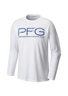Columbia Men's Terminal Tackle PFG Hooks LS Shirt