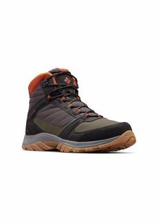 Columbia Men's Terrebonne II Sport MID Omni-TECH Hiking Shoe Grey Dark Adobe 9.5 Regular US
