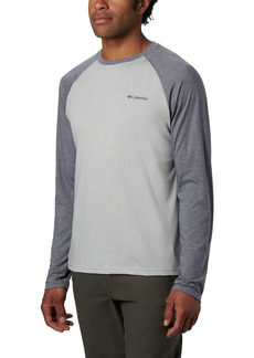 Columbia mens Thistletown Park Raglan Tee Hiking Shirt   US