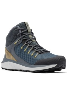Columbia Men's Trail Storm Mid Waterproof Hiking Boots Men's Shoes