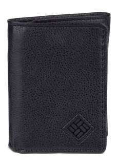 Columbia Rfid Skinny Trifold Leather Men's Wallet