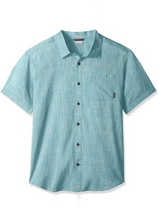 Columbia Men's Under Exposure Yarn Dye Short Sleeve Shirt