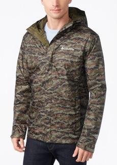 Columbia Men's Watertight Packable Camouflage Jacket