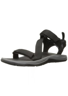 Columbia Men's Wave Train Sandal black city grey Regular US