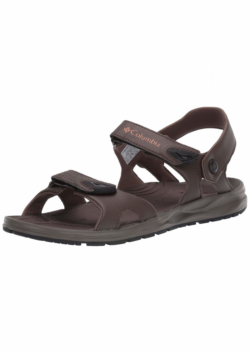 Columbia Men's WAYFINDER 2 Strap Sport Sandal cordovan bright copper  Regular US