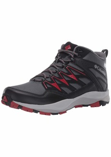 Columbia Men's WAYFINDER MID Outdry Hiking Boot Graphite/red Velvet  Regular US