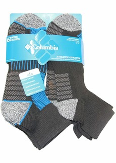 Columbia Mesh Top Arch Support Low Cut Socks 6 Pair M10-13  10-13 (Shoe Size 6-12 US Men's)