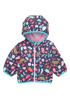 Columbia Mini Pixel Grabber™ II Water Resistant Hooded Jacket (Baby Girls)